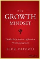Growth Mindset: Leadership Makes a Difference in Wealth Management