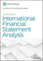 International Financial Statement Analysis 4th Edition