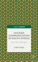 HIV/AIDS Communication in South Africa: Are You Human?