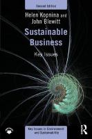 Sustainable Business: Key Issues 2nd New edition
