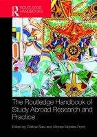 Routledge Handbook of Study Abroad Research and Practice