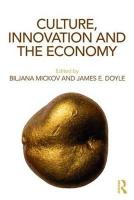 Culture, Innovation and the Economy