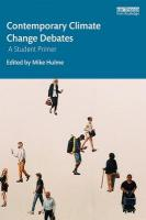 Contemporary Climate Change Debates: A Student Primer