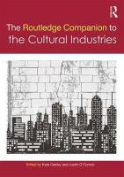 Routledge Companion to the Cultural Industries
