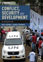 Conflict, Security and Development: An Introduction 3rd New edition