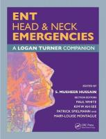 ENT, Head & Neck Emergencies: A Logan Turner Companion