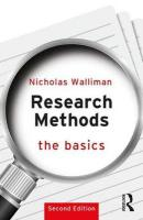 Research Methods: The Basics: 2nd edition 2nd New edition