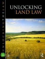 Unlocking Land Law 5th New edition