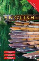 Colloquial English: The Complete Course for Beginners 2nd New edition