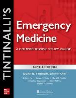Tintinalli's Emergency Medicine: A Comprehensive Study Guide 9th edition