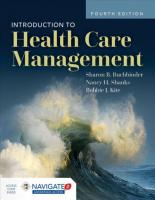 Introduction To Health Care Management 4th Revised edition