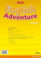 New English Adventure PL 1/GL Starter B Posters 2nd edition