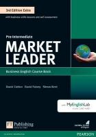 Market Leader 3rd Edition Extra Pre-Intermediate Coursebook with DVD-ROM and   MyEnglishLab Pack 3rd edition