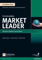 Market Leader 3rd Edition Extra Pre-Intermediate Coursebook with DVD-ROM Pack 3rd edition
