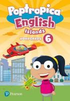 Poptropica English Islands Level 6 Wordcards 2nd New edition