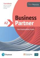 Business Partner A2 Coursebook and Basic MyEnglishLab Pack