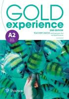 Gold Experience 2nd Edition A2 Teacher's Book with Online Practice & Online   Resources Pack