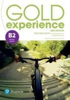 Gold Experience 2nd Edition B2 Teacher's Book with Presentation Tool &   Online Practice? Pack