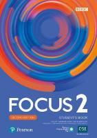 Focus 2e 2 Student's Book with Basic PEP Pack 2nd edition