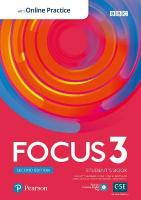 Focus 2e 3 Student's Book with Standard PEP Pack 2nd edition