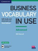Business Vocabulary in Use: Advanced Book with Answers and Enhanced ebook: Self-study and Classroom Use 3rd Revised edition