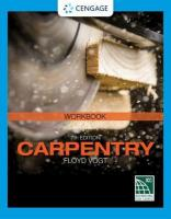Student Workbook for Vogt's Carpentry, 7th 7th edition