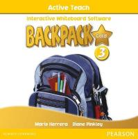 Backpack Gold 3 Active Teach New Edition 2nd edition, 3, Backpack Gold 3 Active Teach New Edition Active Teach