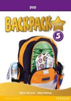 Backpack Gold 5 DVD New Edition 2nd edition, 5