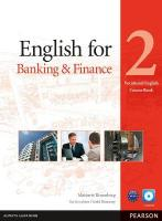 English for Banking & Finance Level 2 Coursebook and CD-ROM Pack