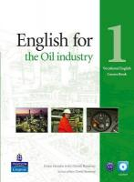 English for the Oil Industry Level 1 Coursebook and CD-Ro Pack, Level 1, English for the Oil Industry Level 1 Coursebook and CD-Ro Pack Coursebook