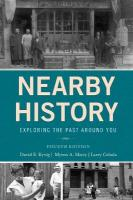 Nearby History: Exploring the Past Around You Fourth Edition