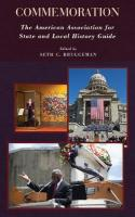Commemoration: The American Association for State and Local History Guide