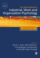 SAGE Handbook of Industrial, Work & Organizational Psychology: V1: Personnel Psychology and Employee Performance 2nd Revised edition, Volume 1, Personal Psychology and Employee Performance