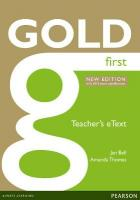 Gold eText Teacher 1st New edition, First