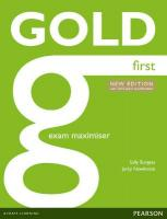 Gold First Maximiser without Key 2nd Student Manual/Study Guide