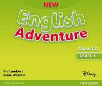 New English Adventure GL 1 Class CD 2nd New edition