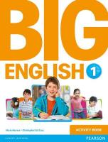 Big English 1 Activity Book, 1
