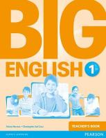 Big English 1 Teacher's Book, 1