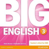 Big English 3 Teacher's eText CD-Rom, 3, Big English 3 Teacher's eText CD-Rom
