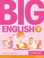 Big English 3 Teacher's Book, 3