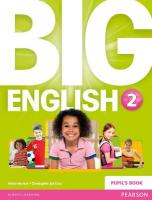 Big English 2 Pupils Book stand alone, 2