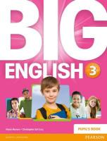 Big English 3 Pupils Book stand alone, 3
