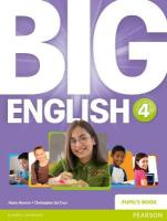 Big English 4 Pupils Book stand alone, 4