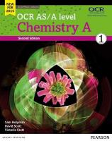 OCR AS/A Level Chemistry A 2015, OCR AS/A level Chemistry A Student Book 1 plus ActiveBook Student Book 1 plus   ActiveBook