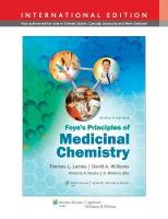Foye's Principles of Medicinal Chemistry Seventh, International Edition
