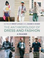 Anthropology of Dress and Fashion: A Reader