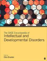 SAGE Encyclopedia of Intellectual and Developmental Disorders