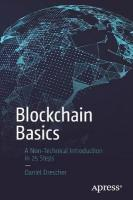 Blockchain Basics: A Non-Technical Introduction in 25 Steps 1st ed.