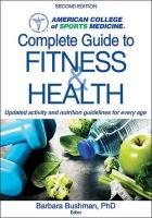 ACSM's Complete Guide to Fitness 2nd edition