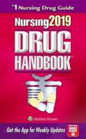 Nursing2019 Drug Handbook Thirty-Ninth